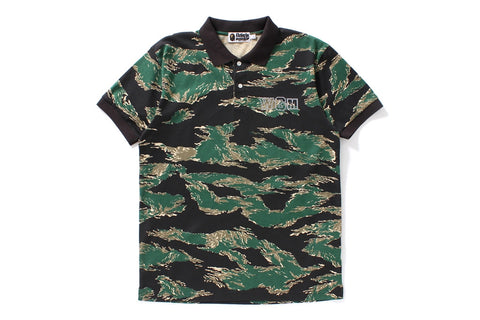 TIGER CAMO SHARK POLO