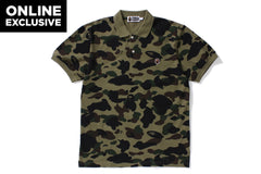 1ST CAMO APE HEAD ONE POINT POLO [ONLINE EXCLUSIVE]
