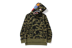 1ST CAMO LONG LENGTH WIDE SHARK PULLOVER HOODIE