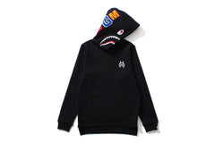SHARK LONG LENGTH PULLOVER HOODIE