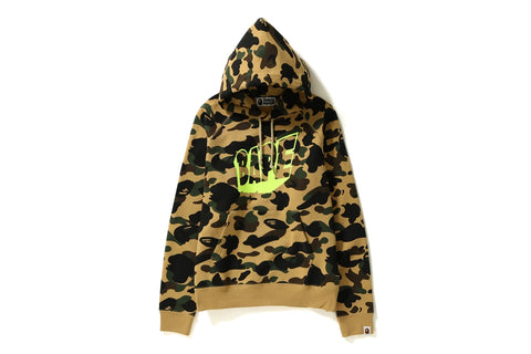 1ST CAMO WIDE PULLOVER HOODIE