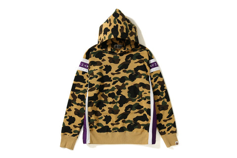 LOGO TAPE 1ST CAMO PULLOVER HOODIE