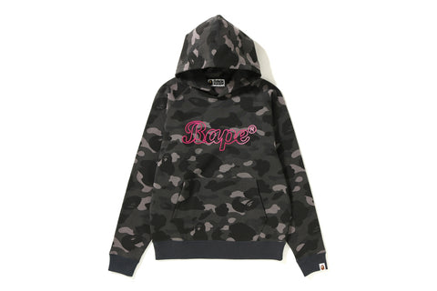 COLOR CAMO WIDE PULLOVER HOODIE