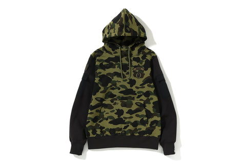 1ST CAMO SLEEVE POCKET PULLOVER HOODIE