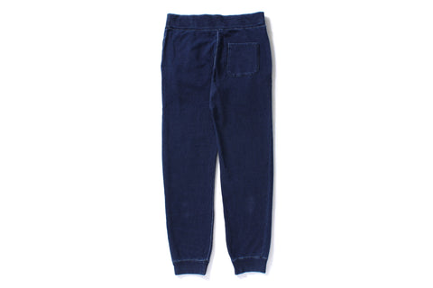 INDIGO SLIM SWEAT PANTS