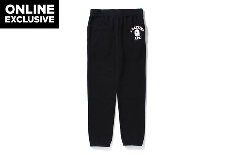 COLLEGE SWEAT PANTS [ONLINE EXCLUSIVE]