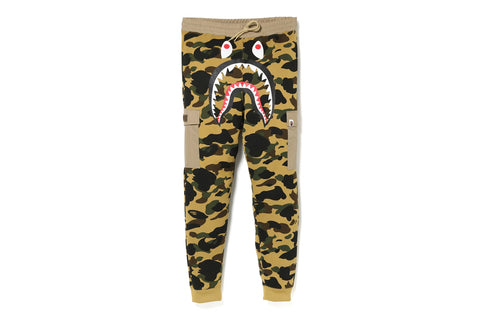 1ST CAMO SHARK SLIM SWEAT CARGO PANTS