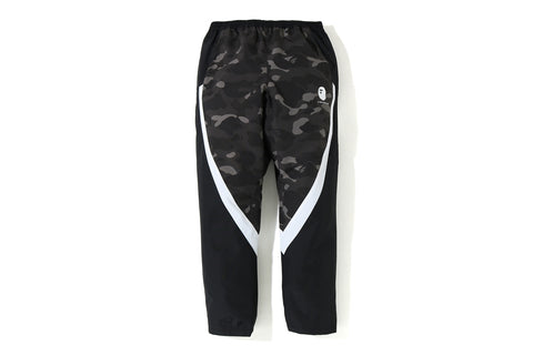 COLOR CAMO COLOR BLOCK PANTS