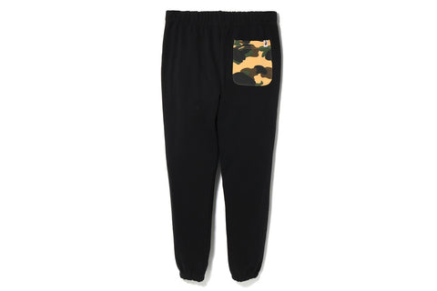 1ST CAMO POCKET SWEAT PANTS