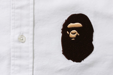 LARGE APE HEAD OXFORD BD SHIRT