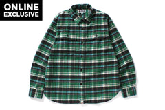 COLLEGE FLANNEL SHIRT -ONLINE EXCLUSIVE-