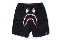COLOR CAMO SHARK REVERSIBLE SHORTS