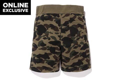 1ST CAMO SWEAT SHORTS -ONLINE EXCLUSIVE-