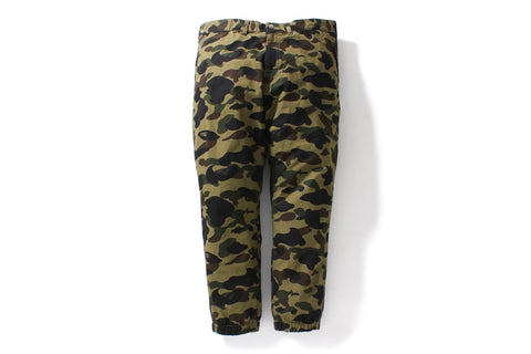1ST CAMO CROPPED JOGGER PANTS