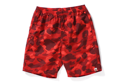 COLOR CAMO BEACH PANTS