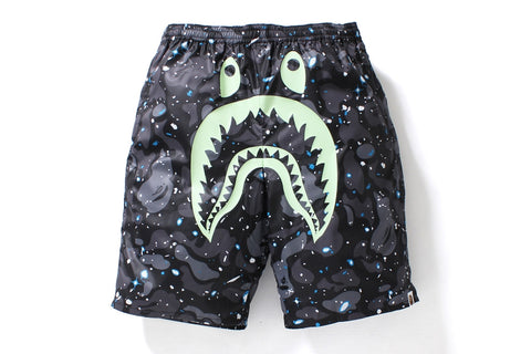 SPACE CAMO SHARK BEACH PANTS