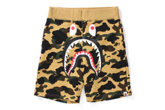 1ST CAMO SHARK SWEAT SHORTS