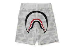 CITY CAMO SHARK SWEAT SHORTS