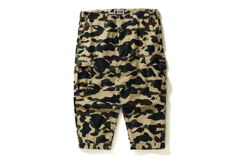 1ST CAMO CROPPED 6POCKET PANTS
