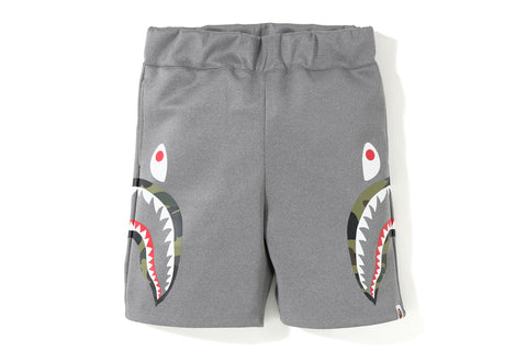 DOUBLE KNIT SIDE SHARK SHORTS