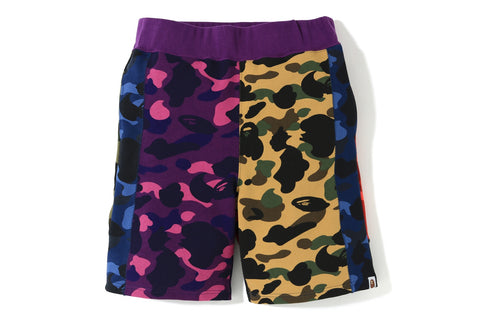 MIX CAMO CRAZY SWEAT SHORTS