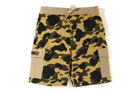 1ST CAMO SWEAT CARGO SHORTS