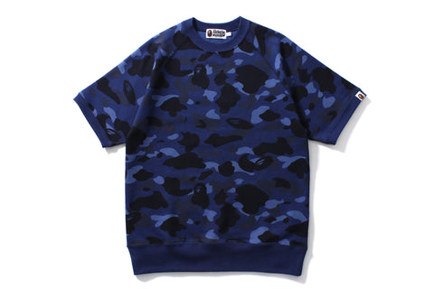 COLOR CAMO S/S CREWNECK