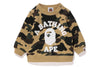 1ST CAMO COLLEGE CREW NECK