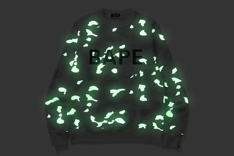 CITY CAMO BAPE CREWNECK