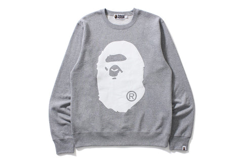BIG APE HEAD CREWNECK