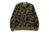 1ST CAMO LARGE APE HEAD CREWNECK