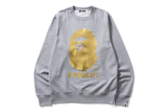 BY BATHING APE FOIL CREWNECK