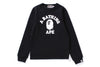 RUBBER COLLEGE CREWNECK