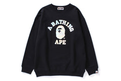 AURORA COLLEGE OVERSIZED CREWNECK