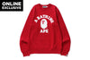 COLLEGE CREWNECK -ONLINE EXCLUSIVE-