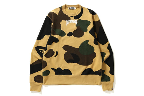 GIANT 1ST CAMO WIDE CREWNECK