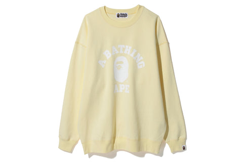 COLLEGE OVERSIZED CREWNECK