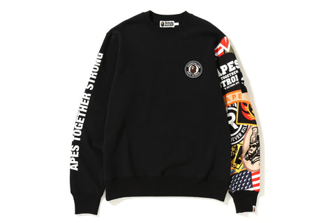 PATCHED CREW NECK