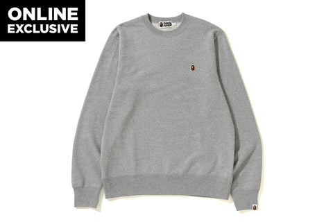 ONE POINT CREWNECK  [ONLINE EXCLUSIVE]