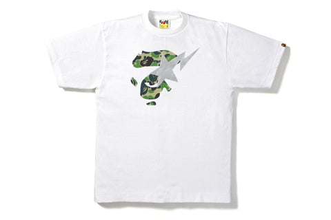 ABC CAMO APE FACE ON BAPESTA TEE