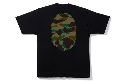1ST CAMO BIG APE HEAD TEE