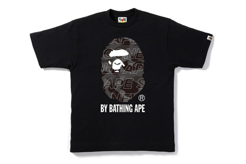 TEXT COLOR CAMO BY BATHING TEE