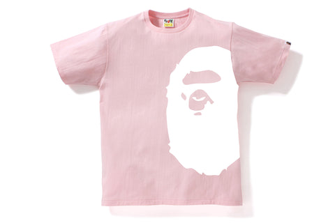 BICOLOR SIDE BIG APE HEAD TEE