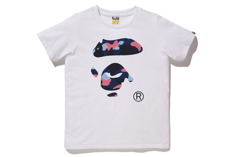 COLOR CAMO APE FACE TEE