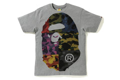 MIX CAMO BIG BIG APE HEAD TEE
