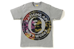 MIX CAMO BIG BUSY WORKS TEE