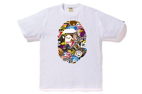 PATCHED BIG APE HEAD TEE