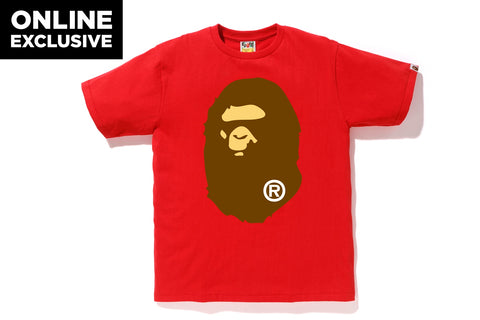 BIG APE HEAD TEE [ONLINE EXCLUSIVE]
