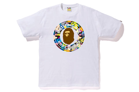 MULTI CAMO BUSY WORKS TEE
