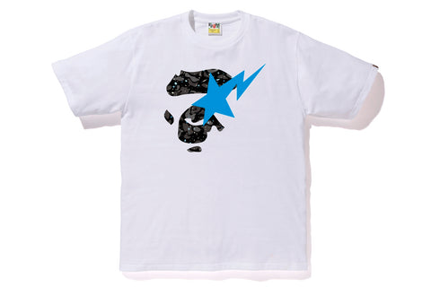 SPACE CAMO APE FACE ON BAPESTA TEE